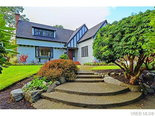 Main Photo: 3070 Uplands Road in VICTORIA: OB Uplands Single Family Detached for sale (Oak Bay)  : MLS®# 371277