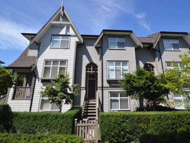 Main Photo: 66 7288 HEATHER Street in Richmond: McLennan North Townhouse for sale : MLS®# R2364655