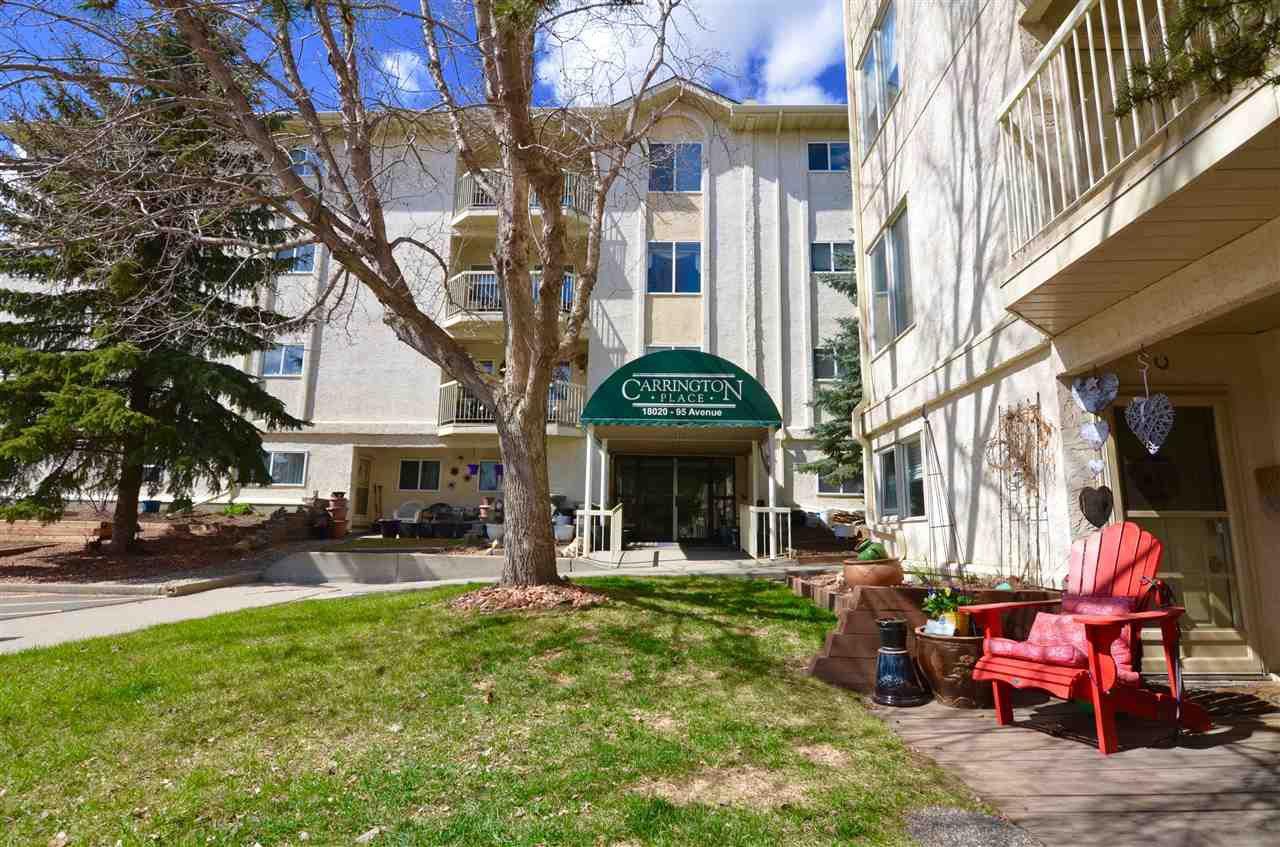 Main Photo: 305 18020 95 Avenue in Edmonton: Zone 20 Condo for sale : MLS®# E4214451