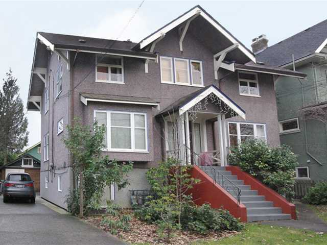 Main Photo: 234 W 13TH Avenue in Vancouver: Mount Pleasant VW House Fourplex for sale (Vancouver West)  : MLS®# V893075