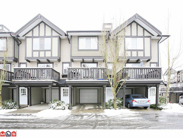 "Main Photo: 14 20176 68TH Avenue in Langley: Willoughby Heights Townhouse for sale in ""STEEPLE CHASE"" : MLS®# F1201333"