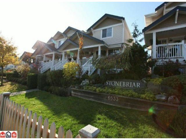 """Main Photo: 6 6533  121 ST in Surrey: West Newton Townhouse for sale in """"Stonebriar"""" : MLS®# F1227166"""