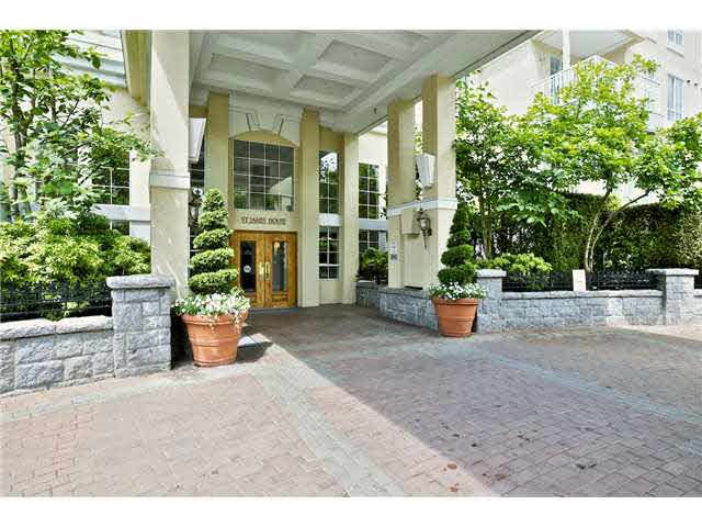 "Main Photo: 302 5835 HAMPTON Place in Vancouver: University VW Condo for sale in ""ST. JAMES HOUSE"" (Vancouver West)  : MLS®# V1128820"