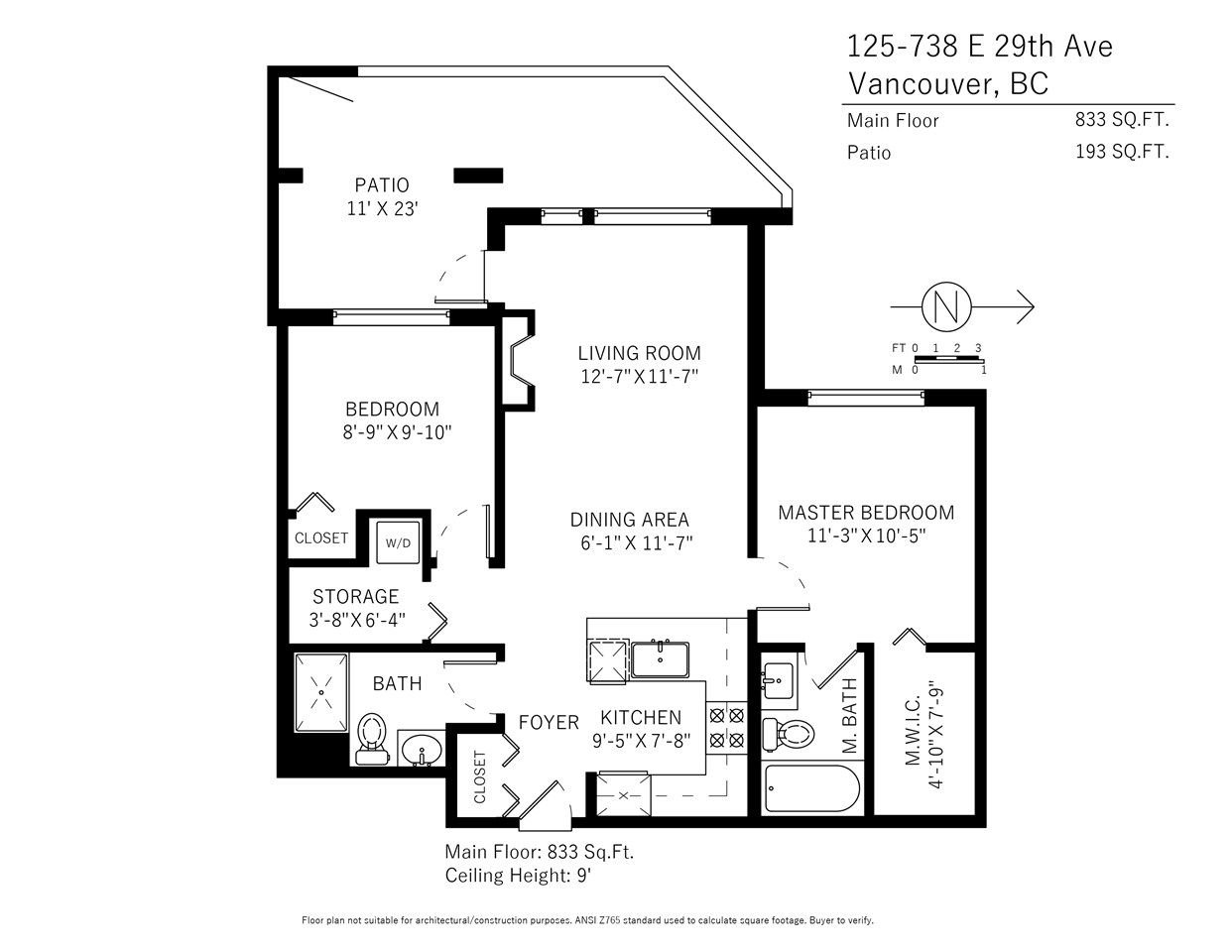 Photo 18: Photos: 125 738 E 29TH AVENUE in Vancouver: Fraser VE Condo for sale (Vancouver East)  : MLS®# R2216791