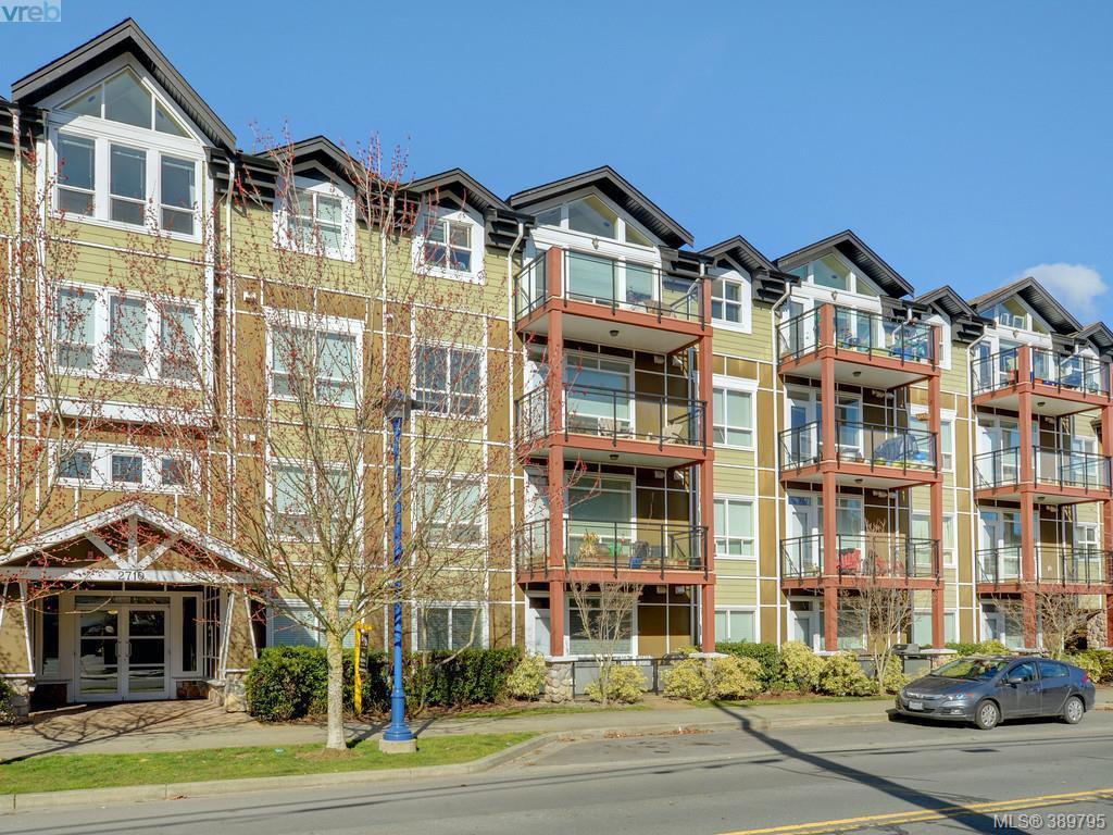 Main Photo: 417 2710 Jacklin Road in VICTORIA: La Langford Proper Condo Apartment for sale (Langford)  : MLS®# 389795