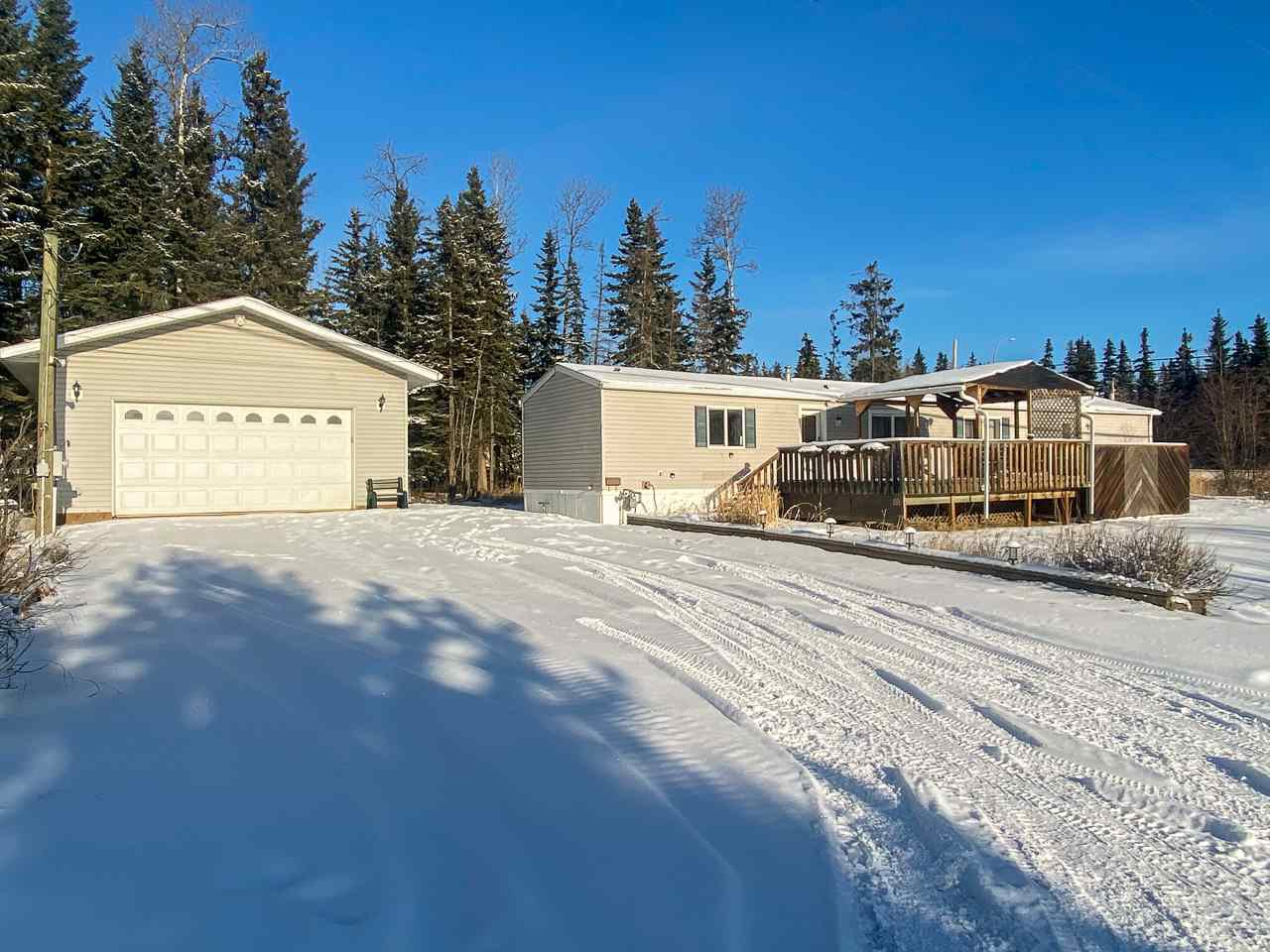 Main Photo: 12924 WEST BYPASS Road in Fort St. John: Fort St. John - Rural W 100th Manufactured Home for sale (Fort St. John (Zone 60))  : MLS®# R2517371