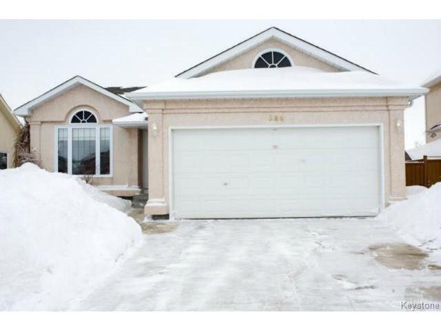 Main Photo: 588 BAIRDMORE Boulevard in WINNIPEG: Richmond West Residential for sale (South Winnipeg)  : MLS®# 1404598