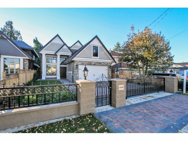 Main Photo: 10640 BIRD Road in Richmond: East Cambie House for sale : MLS®# V1093690