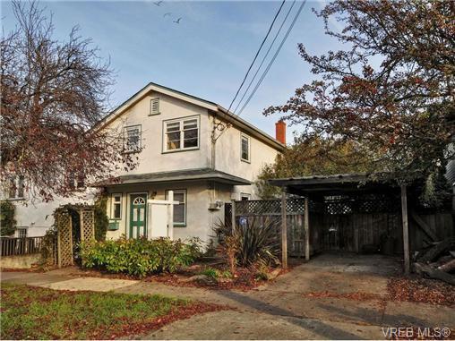 Main Photo: B 1601 Haultain Street in VICTORIA: Vi Oaklands Strata Duplex Unit for sale (Victoria)  : MLS®# 345670