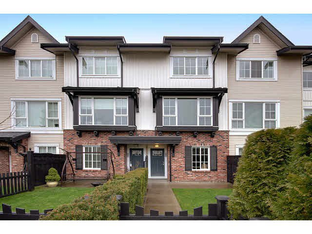"Main Photo: 66 2450 161A Street in Surrey: Grandview Surrey Townhouse for sale in ""GLENMORE"" (South Surrey White Rock)  : MLS®# F1431782"