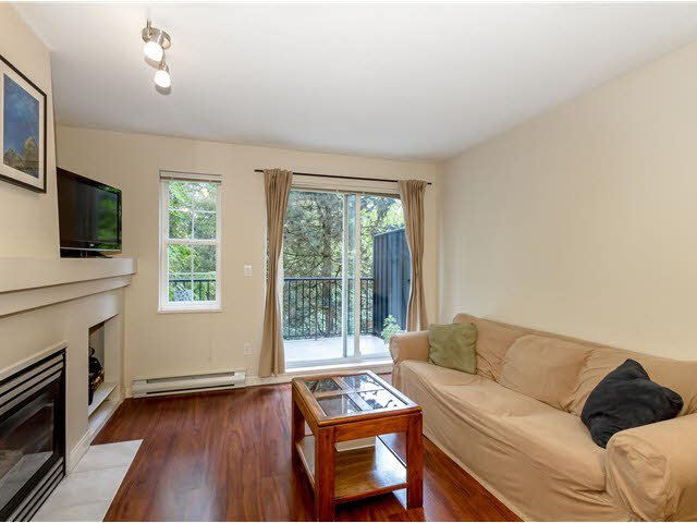 """Main Photo: 19 1561 BOOTH Avenue in Coquitlam: Maillardville Townhouse for sale in """"THE COURCELLES"""" : MLS®# V1121240"""