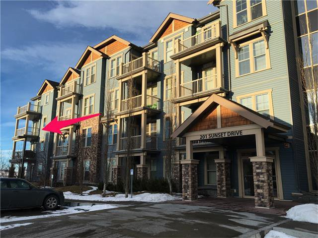 Main Photo: 301 201 SUNSET Drive: Cochrane Condo for sale : MLS®# C4046506