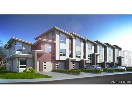 Main Photo: 917 Whirlaway Cres in VICTORIA: La Florence Lake Row/Townhouse for sale (Langford)  : MLS®# 723409