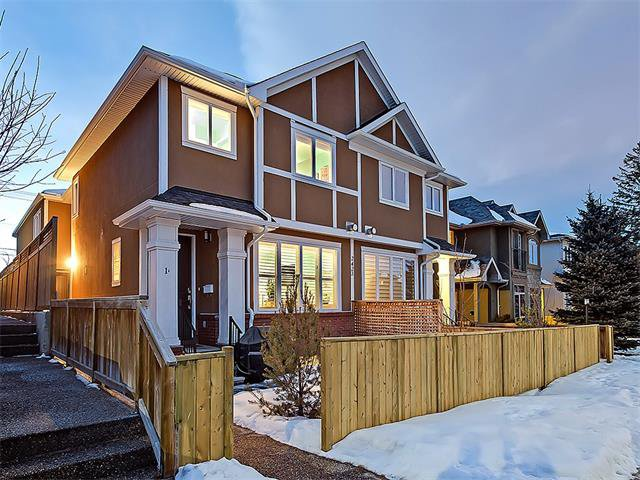 Main Photo: 1 2423A 29 Street SW in Calgary: Killarney/Glengarry House for sale : MLS®# C4103400