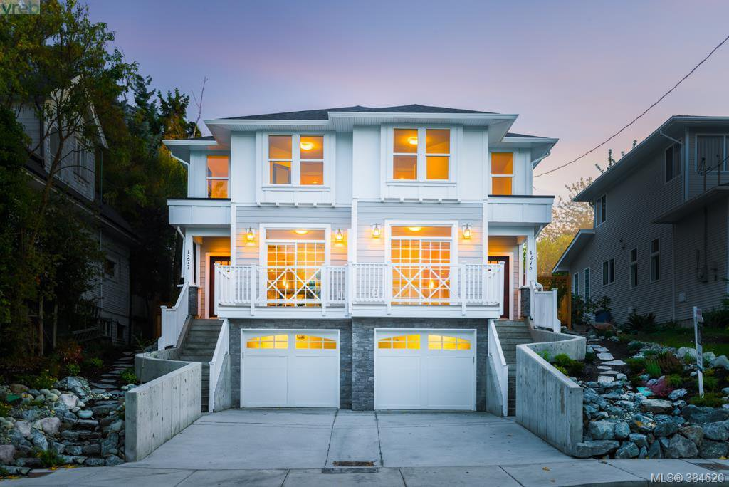 Main Photo: 1277 Walnut St in VICTORIA: Vi Fernwood Half Duplex for sale (Victoria)  : MLS®# 773114