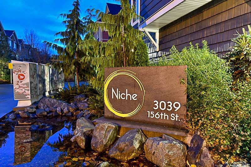 "Main Photo: 39 3039 156 Street in Surrey: Grandview Surrey Townhouse for sale in ""Niche"" (South Surrey White Rock)  : MLS®# R2225779"
