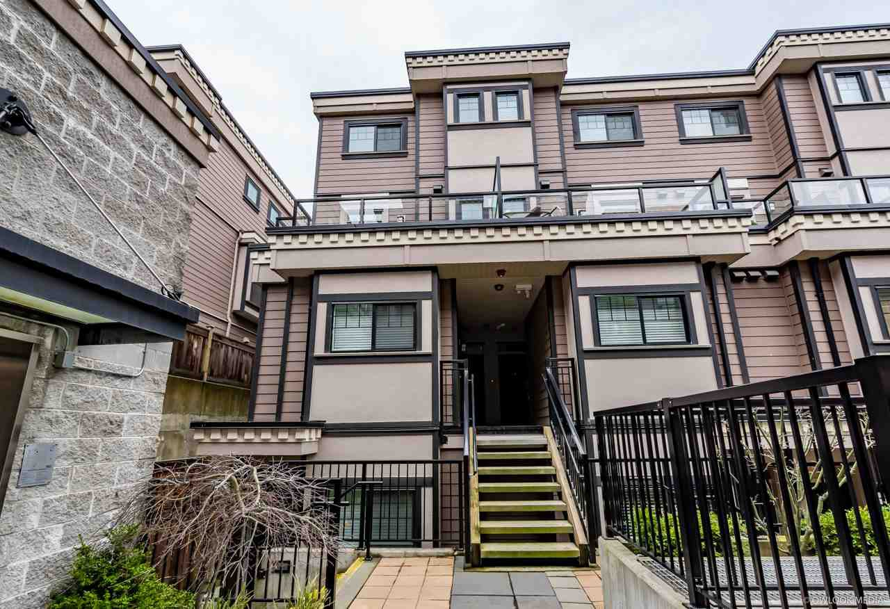 Main Photo: 40 838 ROYAL Avenue in New Westminster: Downtown NW Townhouse for sale : MLS®# R2234901