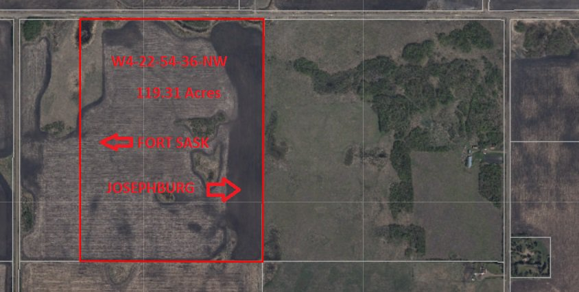 Main Photo: 0 0: Rural Strathcona County Rural Land/Vacant Lot for sale : MLS®# E4097784