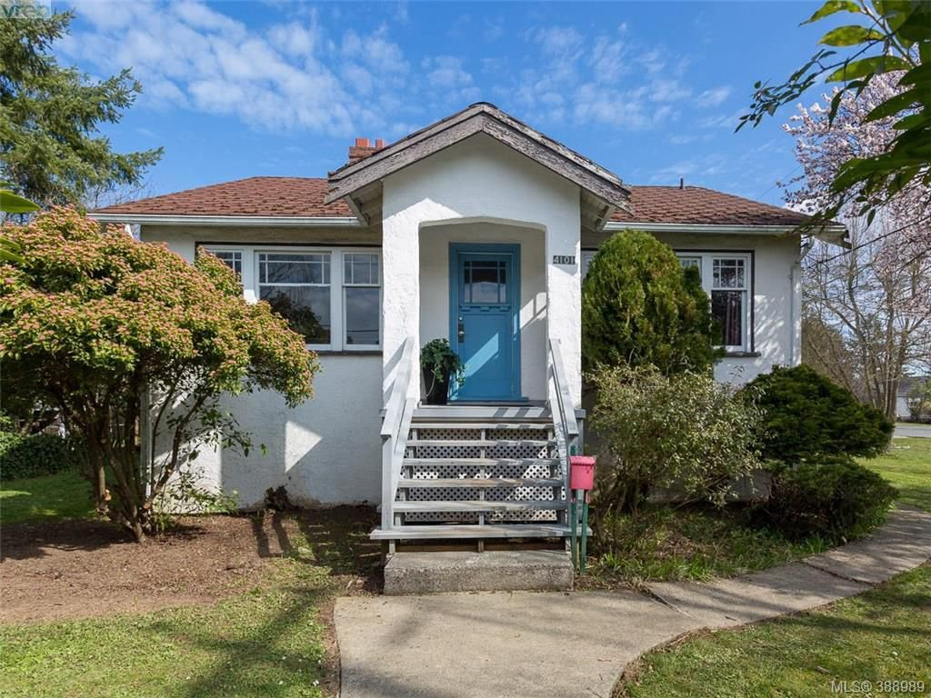 Main Photo: 4101 Glanford Avenue in VICTORIA: SW Glanford Single Family Detached for sale (Saanich West)  : MLS®# 388989