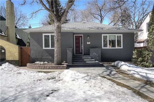 Main Photo: 351 Borebank Street in Winnipeg: River Heights North Residential for sale (1C)  : MLS®# 1807543