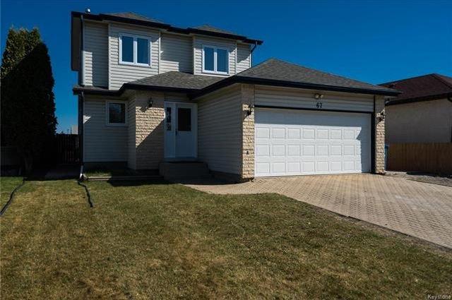 Main Photo: 67 Garwick Cove in Winnipeg: Southdale Residential for sale (2H)  : MLS®# 1812552