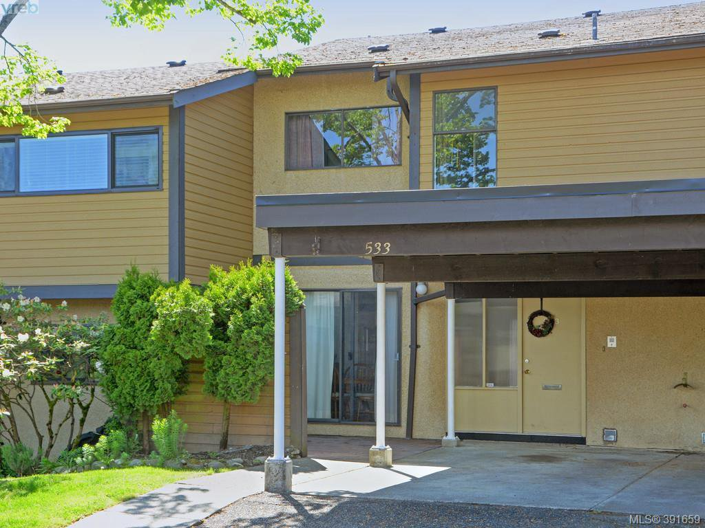 Main Photo: 533 Crossandra Crescent in VICTORIA: SW Tillicum Townhouse for sale (Saanich West)  : MLS®# 391659