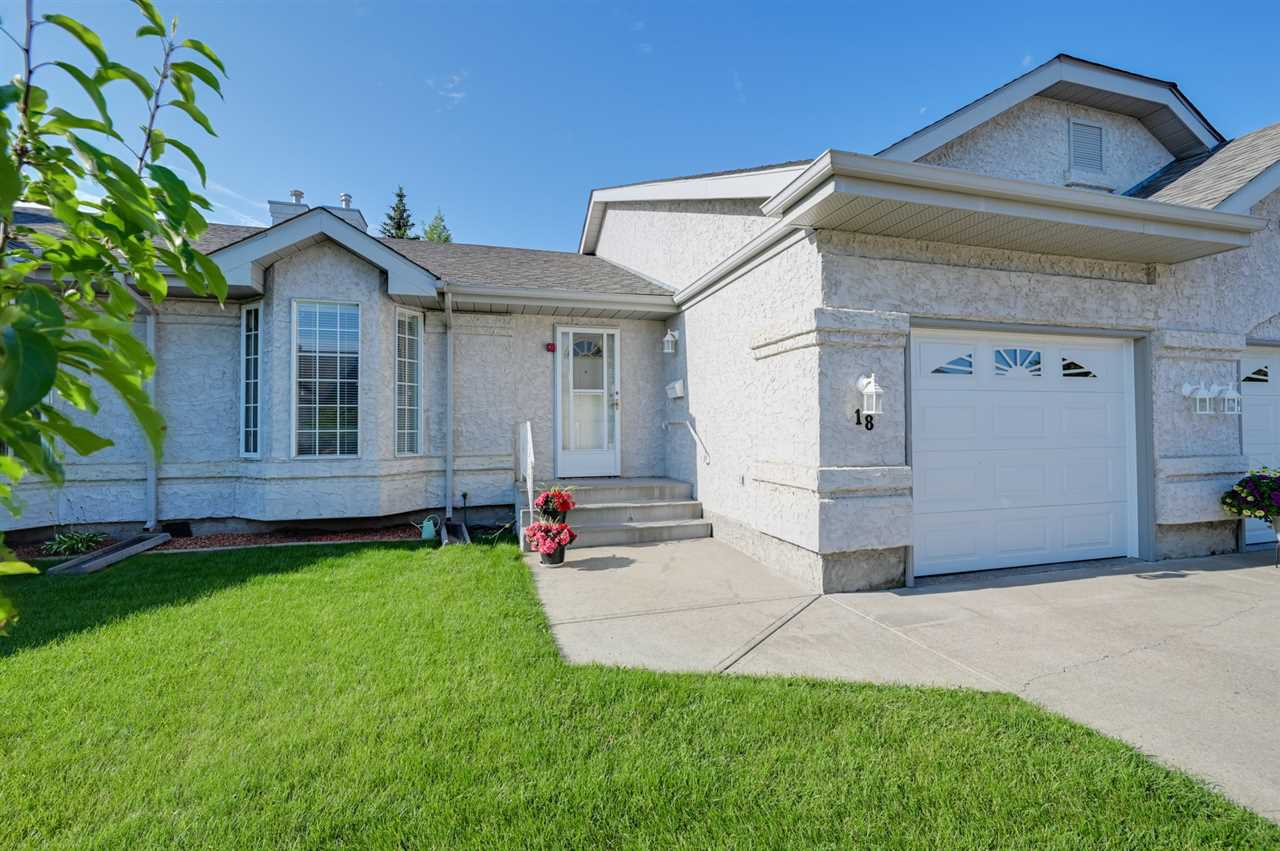Main Photo: 18 303 TWIN BROOKS Drive in Edmonton: Zone 16 House Half Duplex for sale : MLS®# E4167202