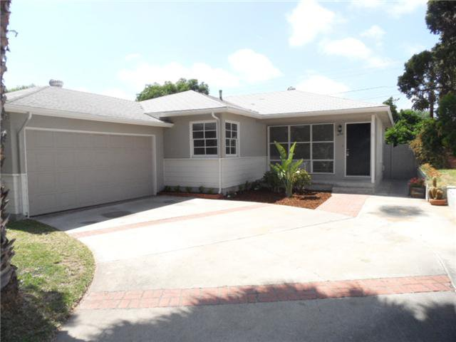Main Photo: SAN DIEGO House for sale : 3 bedrooms : 5226 Waring