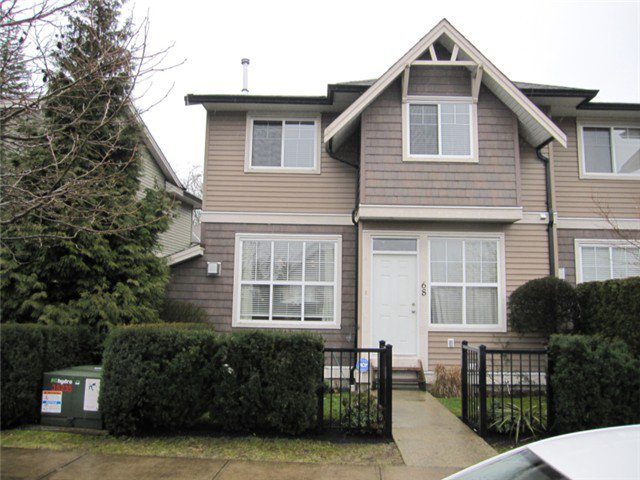 """Main Photo: 68 11720 COTTONWOOD Drive in Maple Ridge: Cottonwood MR Townhouse for sale in """"COTTONWOOD GREEN PHASE II"""" : MLS®# V1050756"""