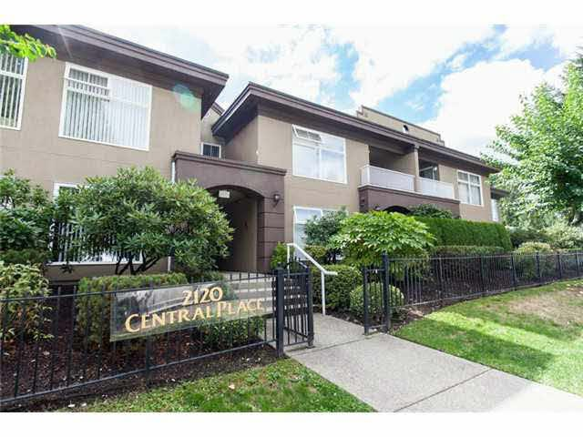 """Main Photo: 2 2120 CENTRAL Avenue in Port Coquitlam: Central Pt Coquitlam Condo for sale in """"CENTRAL PT COQUITLAM"""" : MLS®# V1135631"""