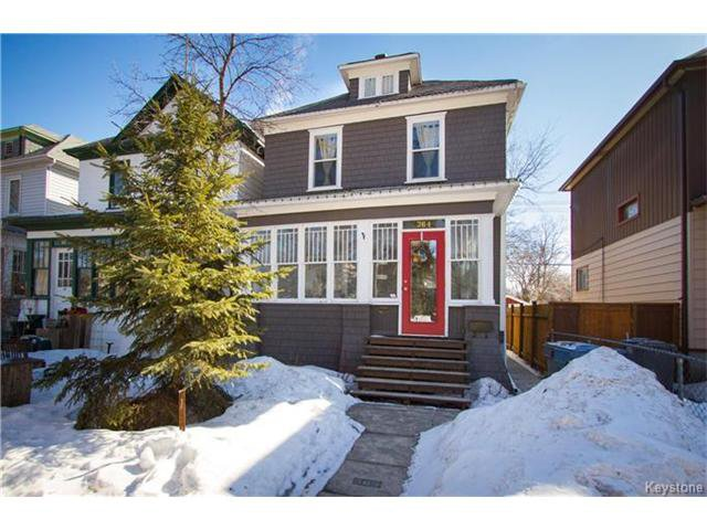 Main Photo: 364 Morley Avenue in Winnipeg: Fort Rouge Residential for sale (1Aw)  : MLS®# 1705166