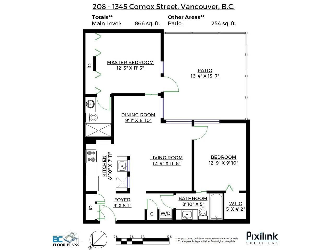 Main Photo: 208 1345 COMOX Street in Vancouver: West End VW Condo for sale (Vancouver West)  : MLS®# R2156986