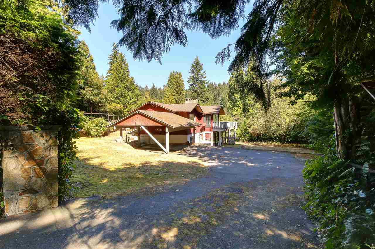 Main Photo: 4909 WATER Lane in West Vancouver: Olde Caulfeild House for sale : MLS®# R2203588