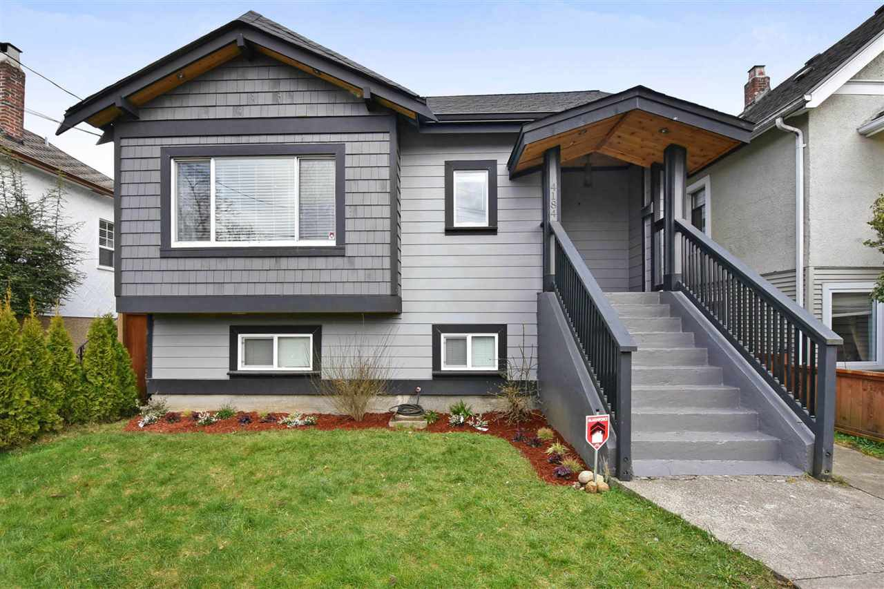 Main Photo: 4184 INVERNESS Street in Vancouver: Knight House for sale (Vancouver East)  : MLS®# R2250581