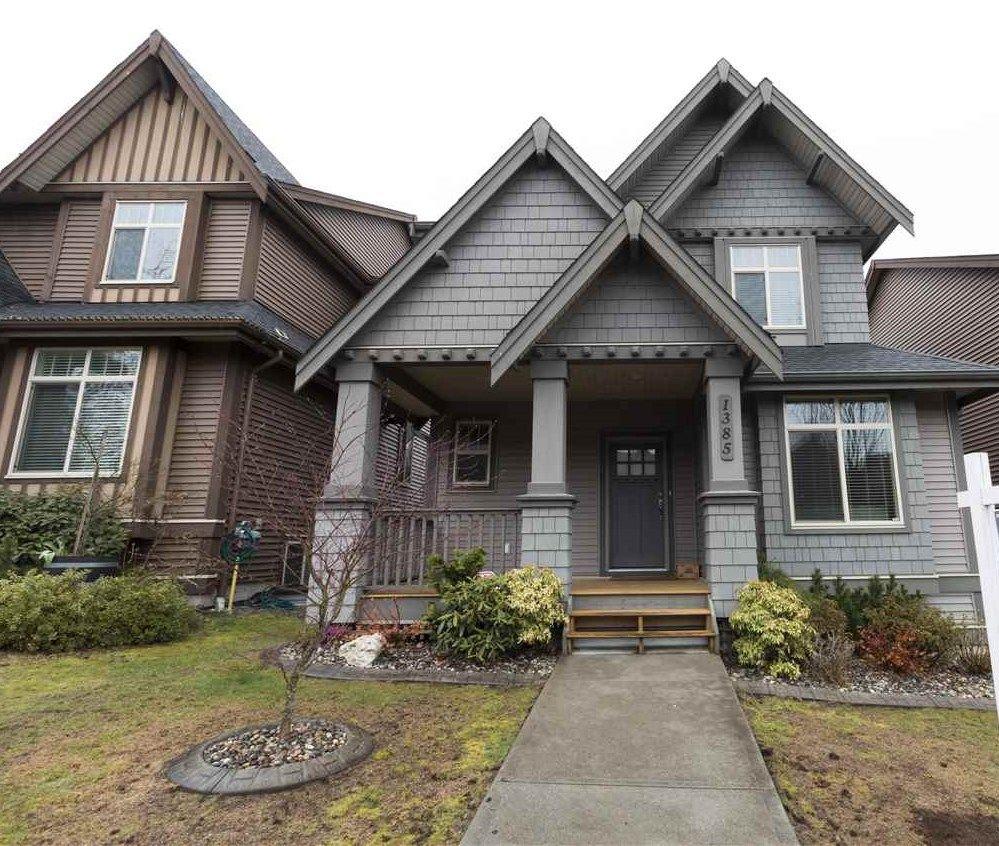 "Main Photo: 1385 TRAFALGAR Street in Coquitlam: Burke Mountain House for sale in ""Meridian Heights by RAB"" : MLS®# R2251043"