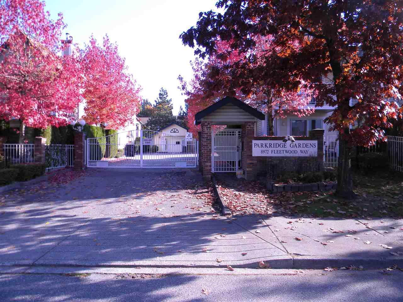 "Main Photo: 801 8972 FLEETWOOD Way in Surrey: Fleetwood Tynehead Townhouse for sale in ""Parkridge Gardens"" : MLS®# R2338897"