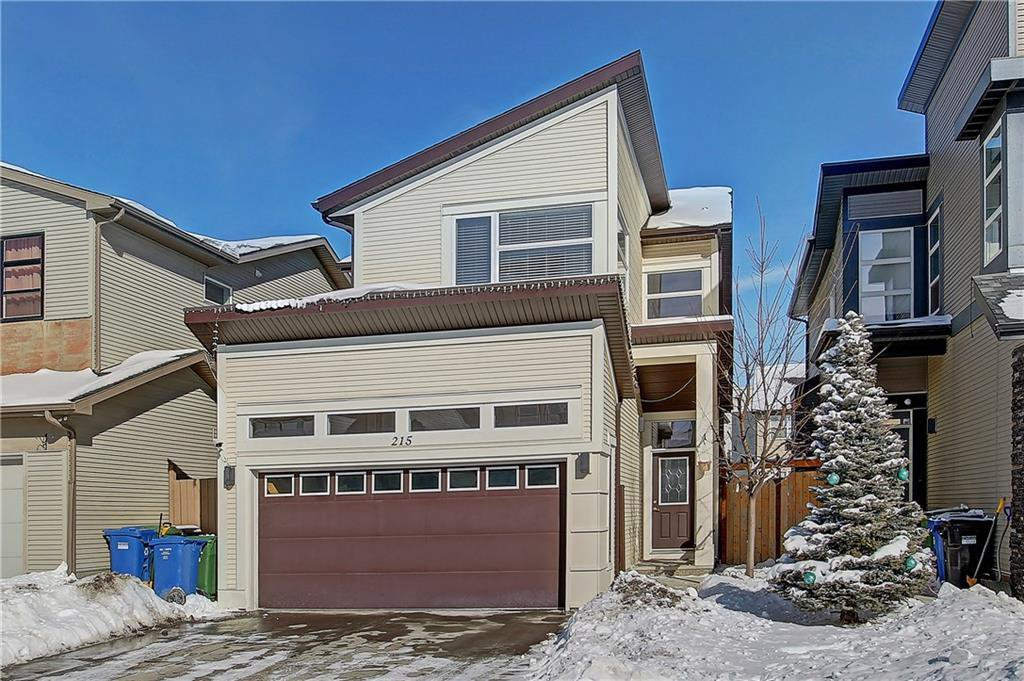 Main Photo: 215 WALDEN Mews SE in Calgary: Walden Detached for sale : MLS®# C4228168