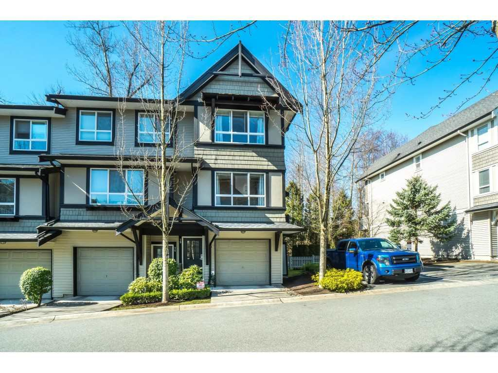 "Main Photo: 75 6747 203 Street in Langley: Willoughby Heights Townhouse for sale in ""SAGEBROOK"" : MLS®# R2348562"