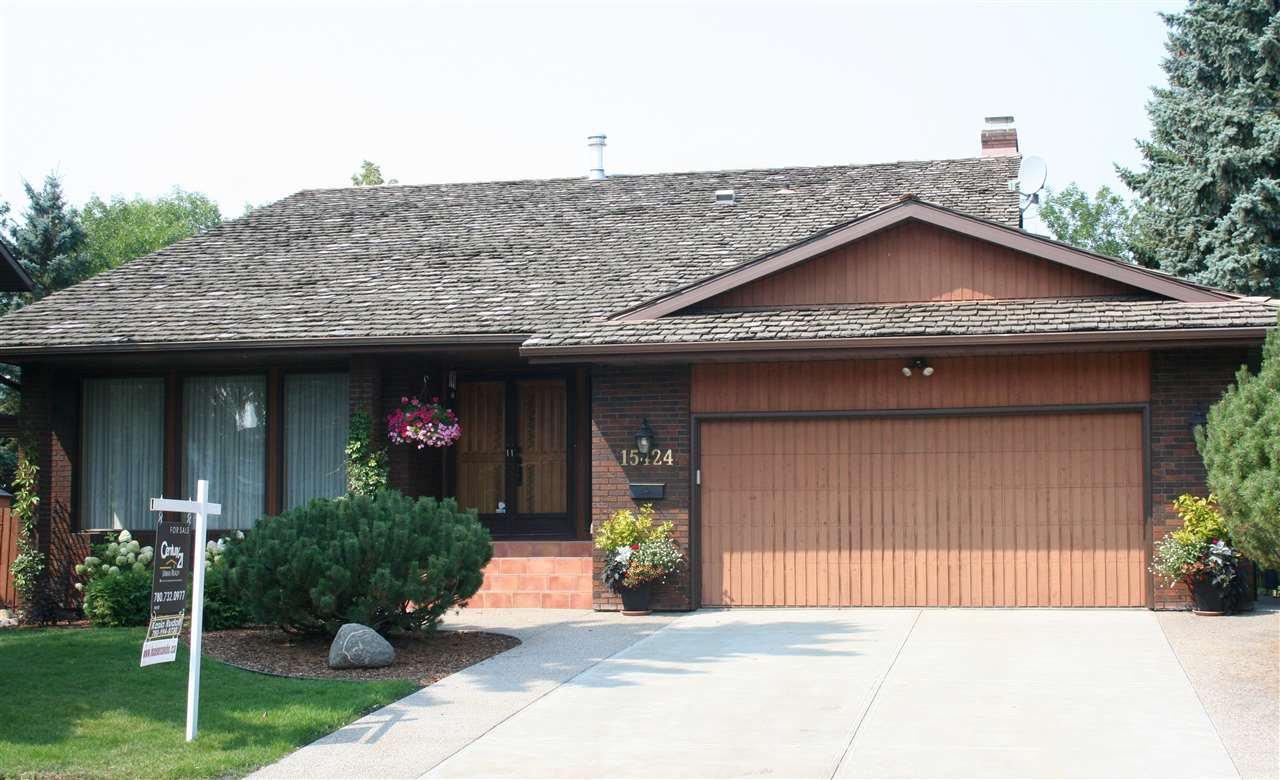 Main Photo: 15424 106 Street in Edmonton: Zone 27 House for sale : MLS®# E4151440