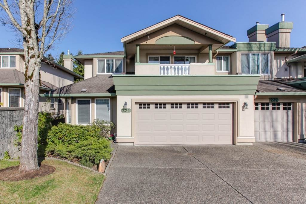 "Main Photo: 231 13888 70 Avenue in Surrey: East Newton Townhouse for sale in ""Chelsea Gardens"" : MLS®# R2358098"
