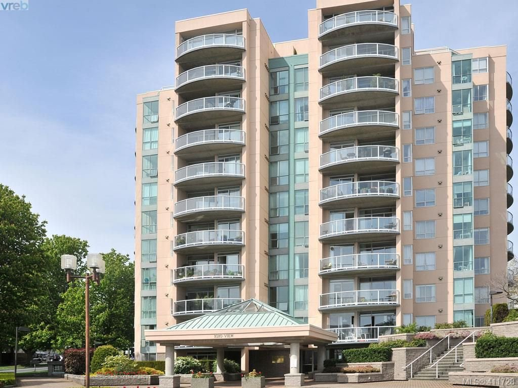 Main Photo: 402 1010 View Street in VICTORIA: Vi Downtown Condo Apartment for sale (Victoria)  : MLS®# 411728