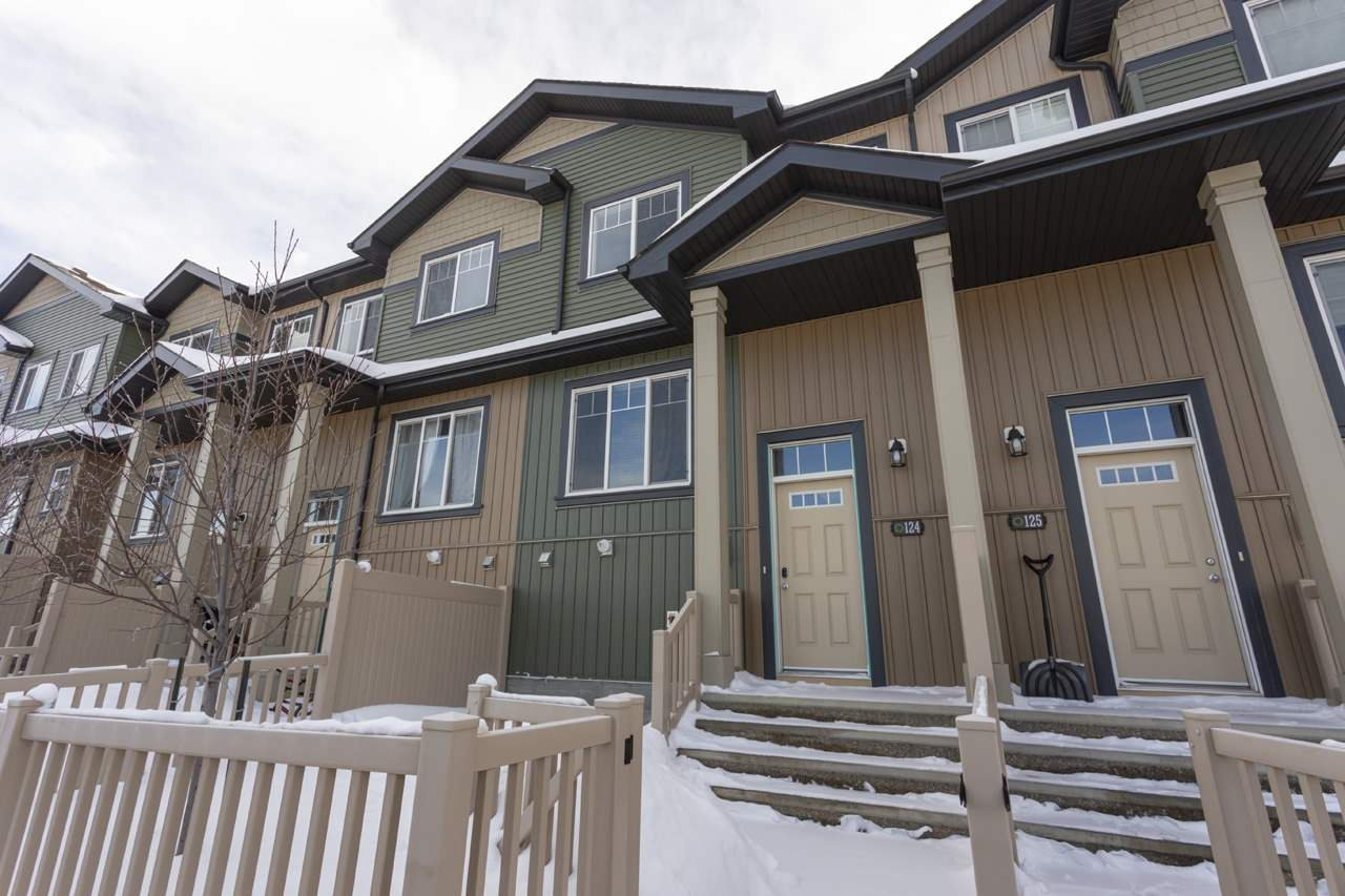 Main Photo: 124 3305 Orchards Link in Edmonton: Zone 53 Townhouse for sale : MLS®# E4160092