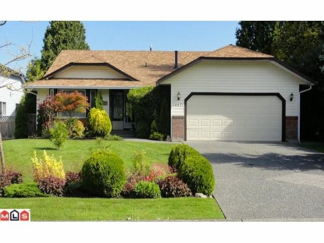 Main Photo: 14471 18TH Avenue in Surrey: Sunnyside Park Surrey House for sale (South Surrey White Rock)  : MLS®# F1114778