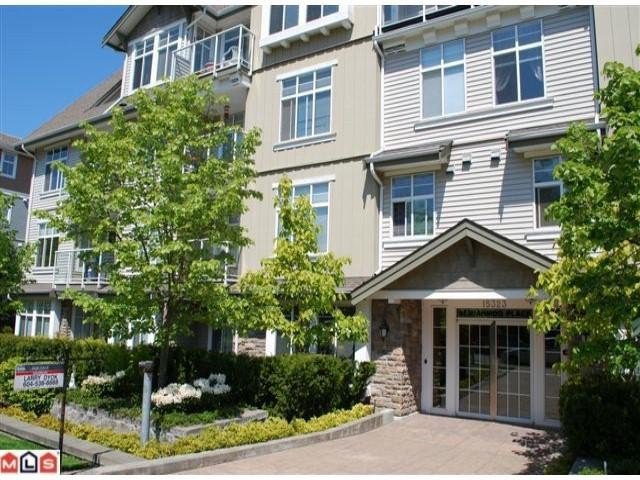 """Main Photo: 103 15323 17A Avenue in Surrey: King George Corridor Condo for sale in """"Semiahmoo Place"""" (South Surrey White Rock)  : MLS®# F1115538"""