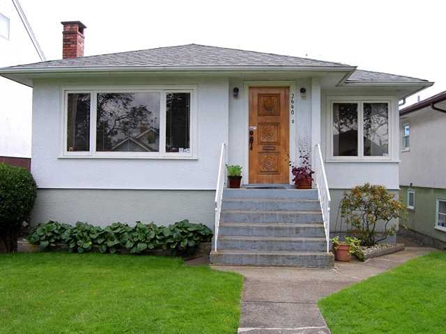 Main Photo: 2640 VENABLES Street in Vancouver: Renfrew VE House for sale (Vancouver East)  : MLS®# V895201