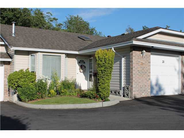 Main Photo: # 21 22308 124TH AV in Maple Ridge: West Central Condo for sale : MLS®# V1001194
