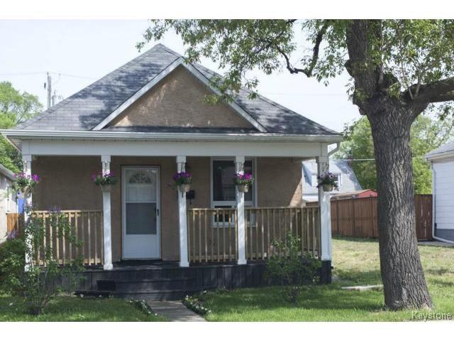 Main Photo: 281 Ferry Road in WINNIPEG: St James Residential for sale (West Winnipeg)  : MLS®# 1514020
