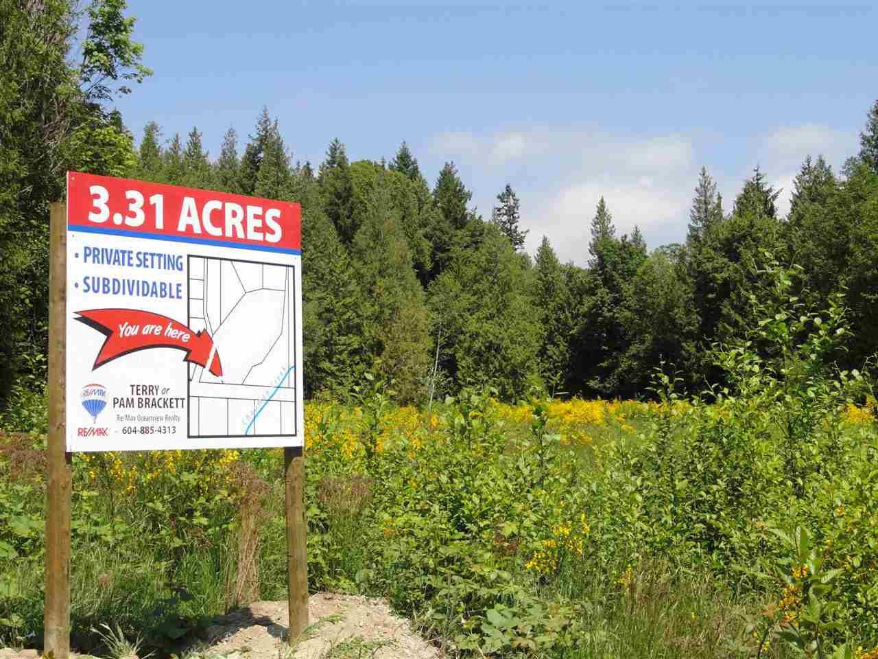 Photo 4: Photos: LOT 16 GUNCLUB ROAD in Sechelt: Sechelt District Land for sale (Sunshine Coast)  : MLS®# R2075941