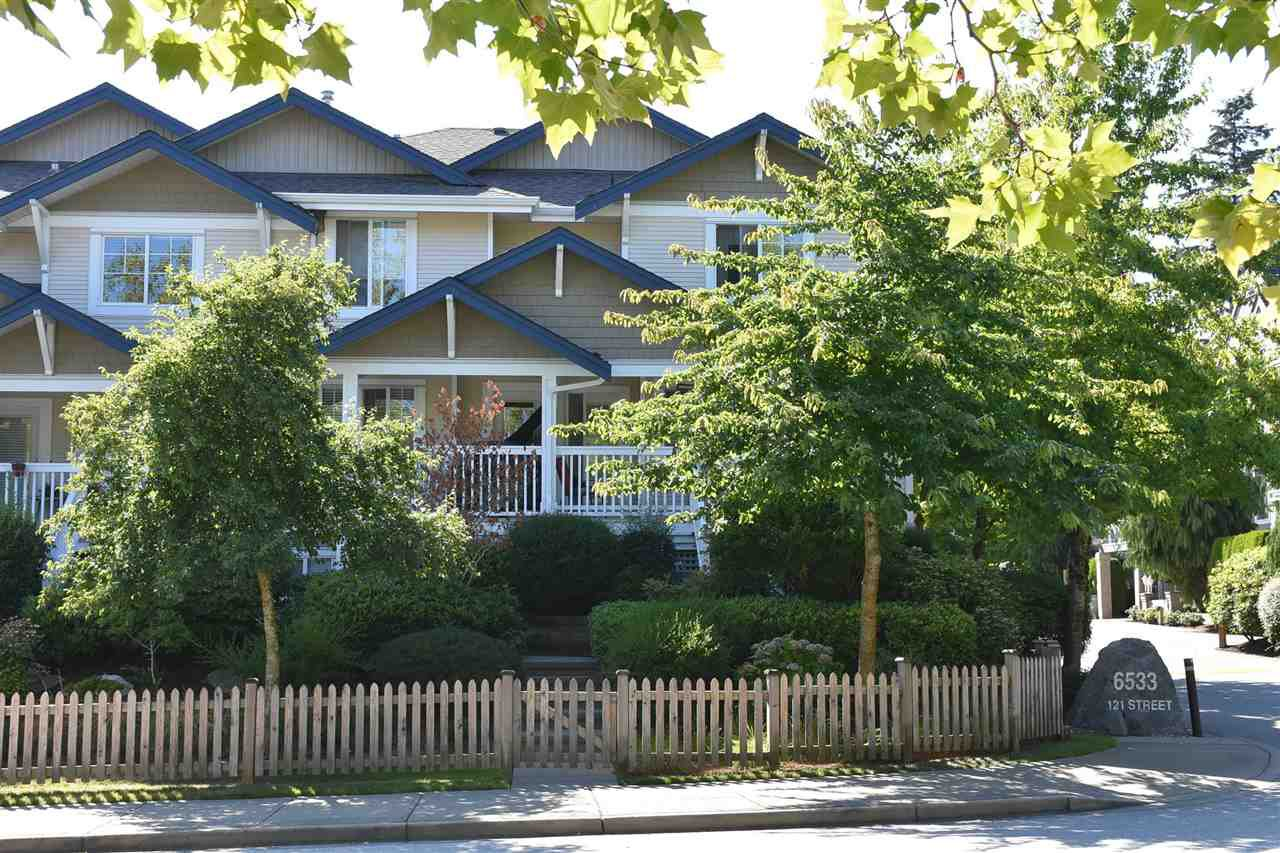 """Main Photo: 1 6533 121 Street in Surrey: West Newton Townhouse for sale in """"Stonebriar"""" : MLS®# R2097646"""