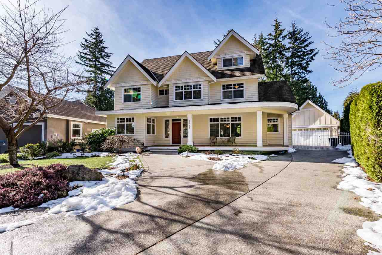Main Photo: 1653 137 Street in Surrey: Sunnyside Park Surrey House for sale (South Surrey White Rock)  : MLS®# R2165376